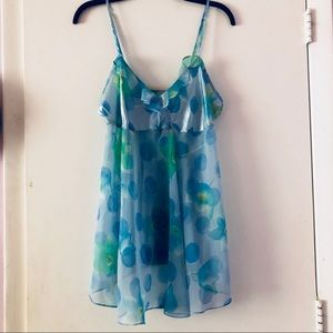 Other - Blue Flowery Night gown ✨